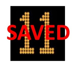 11 saved