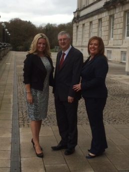 With Jo-Anne Dobson and Mark Drakeford