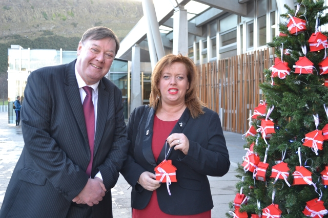 Anne McTaggart MSP - Shelter Scotland Christmas Campaign