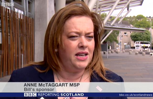 Reporting Scotland OD face
