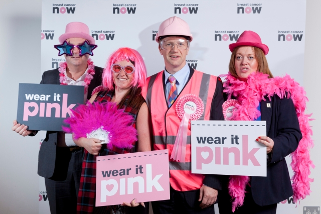Scotland's MSP's Wear it Pink in support of Breast Cancer Now